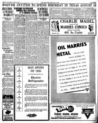 Pampa Daily News from Pampa, Texas on June 10, 1936 · Page 3