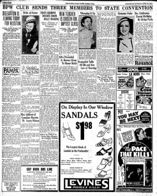 Pampa Daily News from Pampa, Texas on June 10, 1936 · Page 4