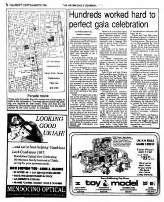 Ukiah Daily Journal from Ukiah, California on September 21, 1987 · Page 17