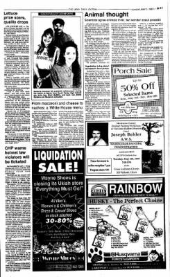 Ukiah Daily Journal from Ukiah, California on May 2, 1993 · Page 11