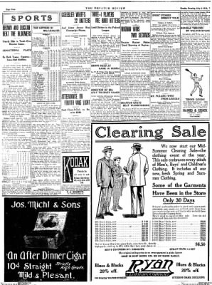 The Daily Review from Decatur, Illinois on July 6, 1914 · Page 4