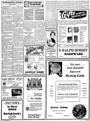 Denton Journal from Denton, Maryland on December 10, 1938 · Page 2