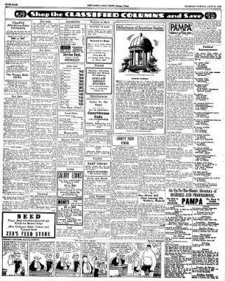 Pampa Daily News from Pampa, Texas on June 11, 1936 · Page 4