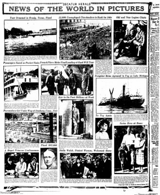 Decatur Evening Herald from Decatur, Illinois on October 13, 1930 · Page 14