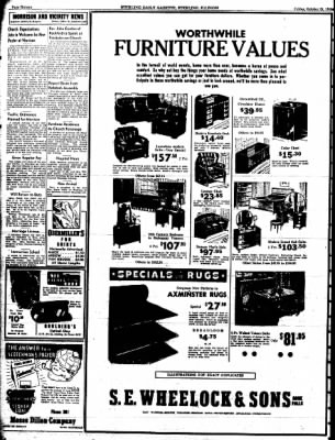 Sterling Daily Gazette from Sterling, Illinois on October 24, 1941 · Page 16