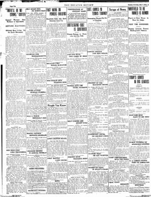 The Daily Review from Decatur, Illinois on July 7, 1914 · Page 10