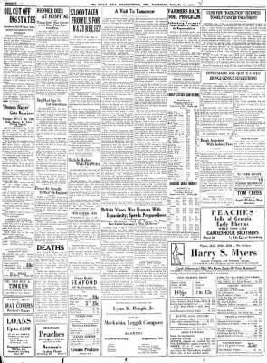 The Daily Mail from Hagerstown, Maryland on August 17, 1939 · Page 20