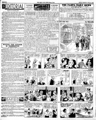 Pampa Daily News from Pampa, Texas on June 12, 1936 · Page 9