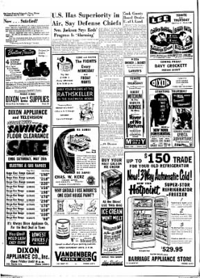 Dixon Evening Telegraph from Dixon, Illinois on May 25, 1955 · Page 16