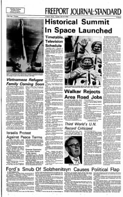 Freeport Journal-Standard from Freeport, Illinois on July 15, 1975 · Page 1