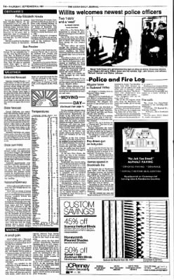 Ukiah Daily Journal from Ukiah, California on September 24, 1987 · Page 14