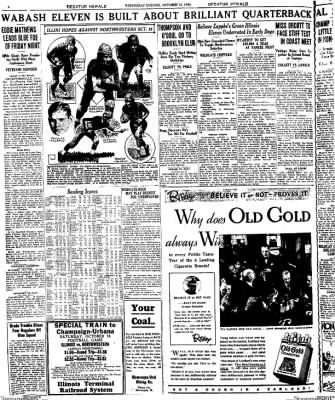 Decatur Evening Herald from Decatur, Illinois on October 15, 1930 · Page 4