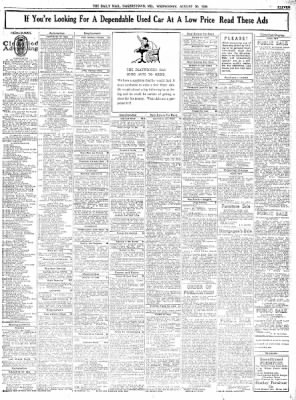 The Daily Mail from Hagerstown, Maryland on August 30, 1939 · Page 11