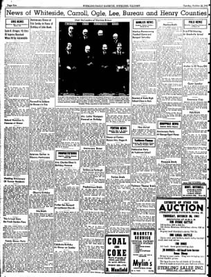 Sterling Daily Gazette from Sterling, Illinois on October 28, 1941 · Page 10