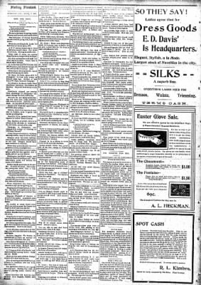 Sterling Standard from Sterling, Illinois on April 15, 1897 · Page 6