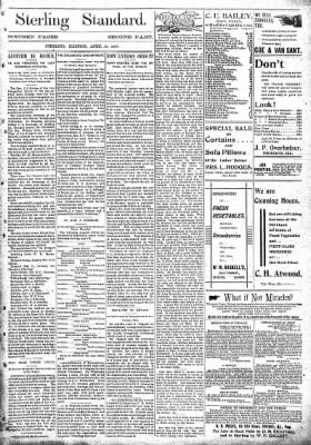 Sterling Standard from Sterling, Illinois on April 15, 1897 · Page 9
