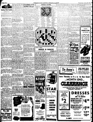 Sterling Daily Gazette from Sterling, Illinois on October 29, 1941 · Page 4
