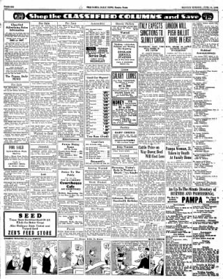 Pampa Daily News from Pampa, Texas on June 15, 1936 · Page 6