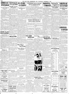The Daily Mail from Hagerstown, Maryland on September 6, 1939 · Page 10
