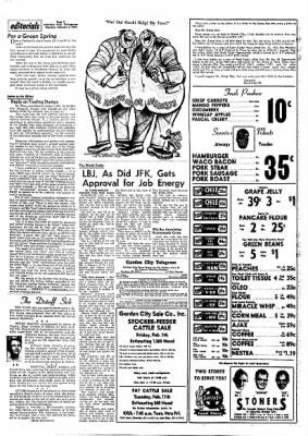 Garden City Telegram from Garden City, Kansas on February 6, 1964 · Page 2