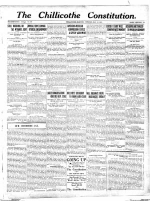 The Chillicothe Constitution-Tribune from Chillicothe, Missouri on November 14, 1916 · Page 1