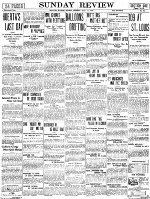 The Daily Review from Decatur, Illinois on July 12, 1914 · Page 1