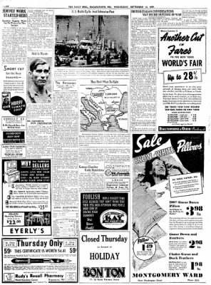 The Daily Mail from Hagerstown, Maryland on September 13, 1939 · Page 4