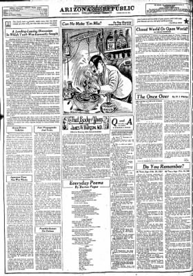 Arizona Republic from Phoenix, Arizona on February 19, 1941 · Page 36