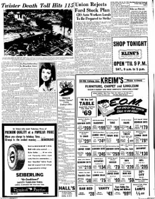 Dixon Evening Telegraph from Dixon, Illinois on May 27, 1955 · Page 9