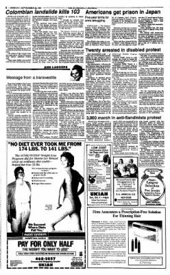 Ukiah Daily Journal from Ukiah, California on September 28, 1987 · Page 6