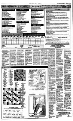 Ukiah Daily Journal from Ukiah, California on May 6, 1993 · Page 13