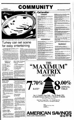Ukiah Daily Journal from Ukiah, California on September 29, 1987 · Page 5