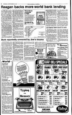 Ukiah Daily Journal from Ukiah, California on September 29, 1987 · Page 6
