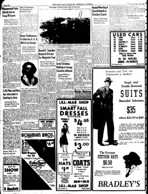 Sterling Daily Gazette from Sterling, Illinois on October 31, 1941 · Page 6