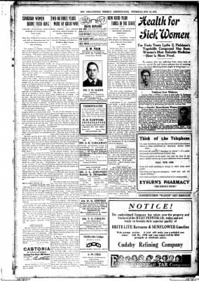 The Chillicothe Constitution-Tribune from Chillicothe, Missouri on November 16, 1916 · Page 3