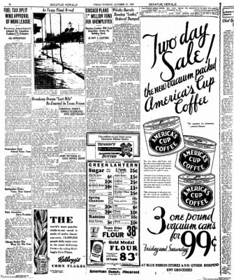 Decatur Evening Herald from Decatur, Illinois on October 17, 1930 · Page 23