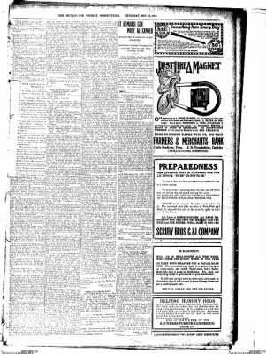 The Chillicothe Constitution-Tribune from Chillicothe, Missouri on November 16, 1916 · Page 8