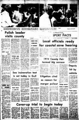 The Brazosport Facts from Freeport, Texas on October 14, 1974 · Page 1