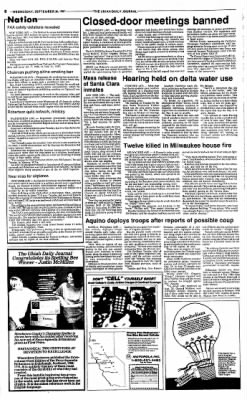 Ukiah Daily Journal from Ukiah, California on September 30, 1987 · Page 8