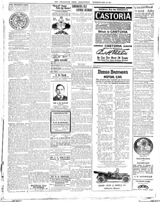 The Chillicothe Constitution-Tribune from Chillicothe, Missouri on November 16, 1916 · Page 12