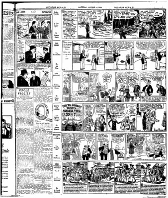 Decatur Evening Herald from Decatur, Illinois on October 18, 1930 · Page 9