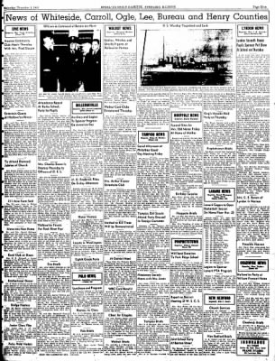 Sterling Daily Gazette from Sterling, Illinois on November 1, 1941 · Page 9