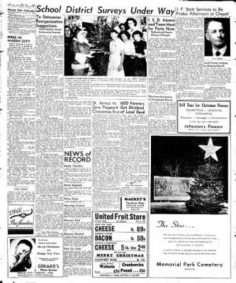 Globe-Gazette from Mason City, Iowa on December 24, 1948 · Page 10