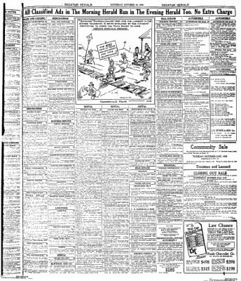 Decatur Evening Herald from Decatur, Illinois on October 18, 1930 · Page 11