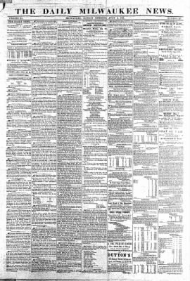 The Daily Milwaukee News from Milwaukee, Wisconsin on July 3, 1859 · Page 1