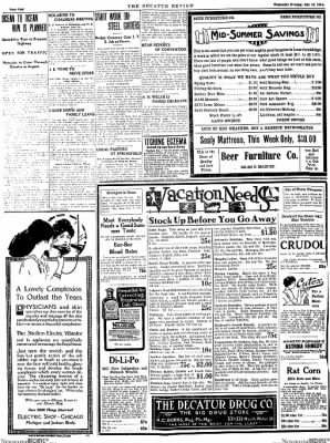 The Daily Review from Decatur, Illinois on July 15, 1914 · Page 4