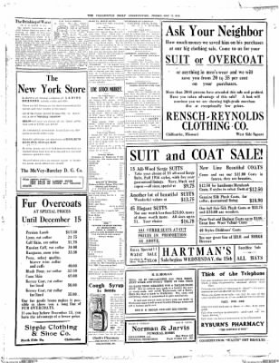 The Chillicothe Constitution-Tribune from Chillicothe, Missouri on November 17, 1916 · Page 4