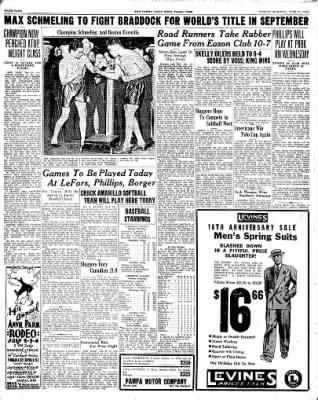 Pampa Daily News from Pampa, Texas on June 21, 1936 · Page 4