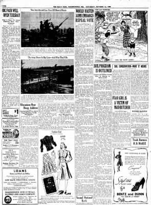 The Daily Mail from Hagerstown, Maryland on October 14, 1939 · Page 2