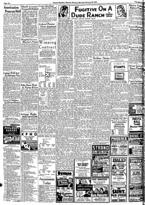 Arizona Republic from Phoenix, Arizona on February 20, 1941 · Page 32